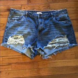BP Distressed Shorts